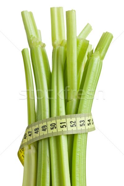green celery sticks on white background Stock photo © jirkaejc