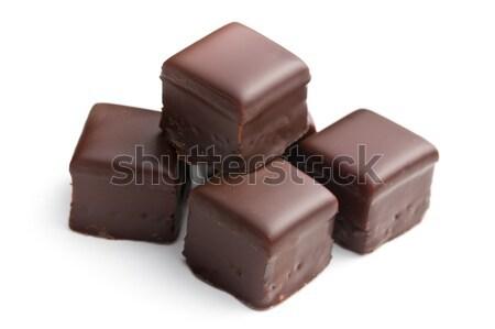 chocolate praline Stock photo © jirkaejc