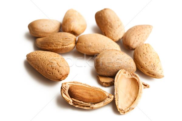 almonds in nutshell Stock photo © jirkaejc