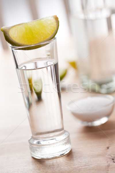 Photo stock: Tequila · boire · photo · coup · alimentaire · fête