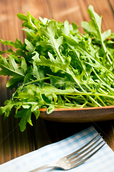 fresh arugula leaves Stock photo © jirkaejc