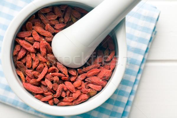 сушат Ягоды красный азиатских китайский диета Сток-фото © jirkaejc