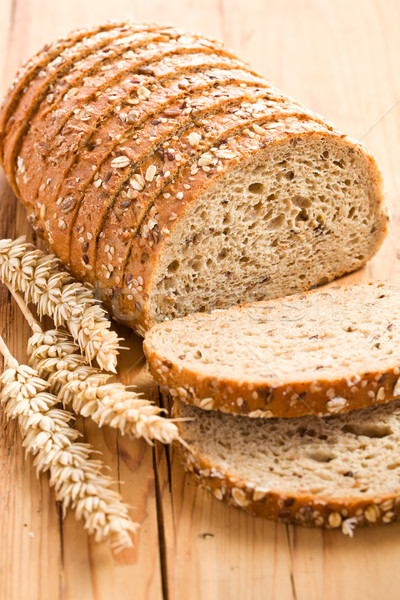 whole wheat bread Stock photo © jirkaejc