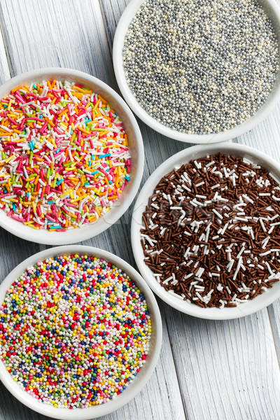 colorful candy sprinkles Stock photo © jirkaejc