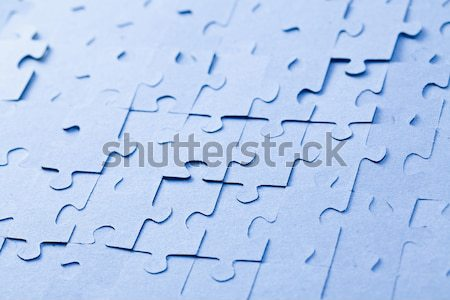jigsaw puzzle with white light Stock photo © jirkaejc