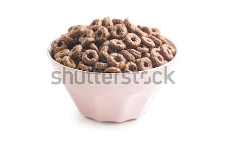 chocolate cereal rings Stock photo © jirkaejc