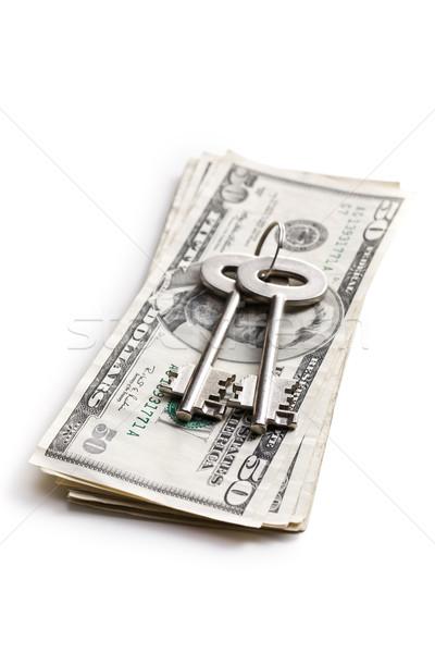 Сток-фото: безопасной · ключевые · деньги · технологий · безопасности · знак