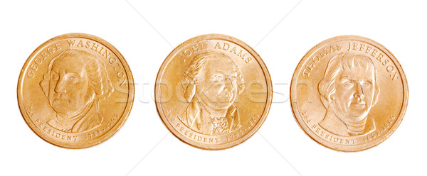 american coins with presidents Stock photo © jirkaejc