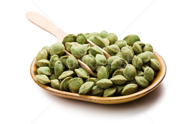 wasabi snack peanuts  Stock photo © jirkaejc