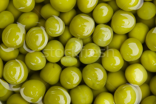 canned green peas background Stock photo © jirkaejc