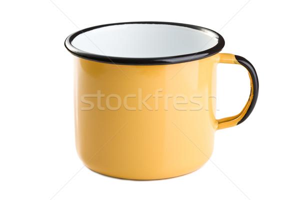 tin cup Stock photo © jirkaejc