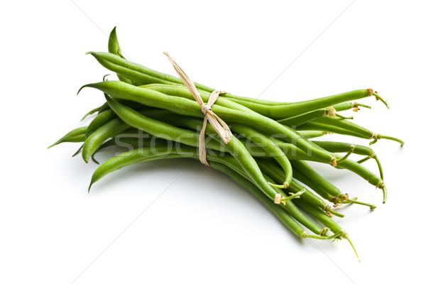 fresh green beans Stock photo © jirkaejc