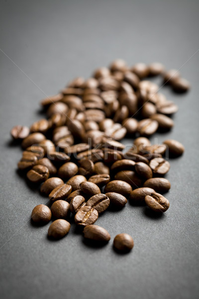 Chicchi di caffè caffè nero fagioli nero caffè gruppo Foto d'archivio © jirkaejc