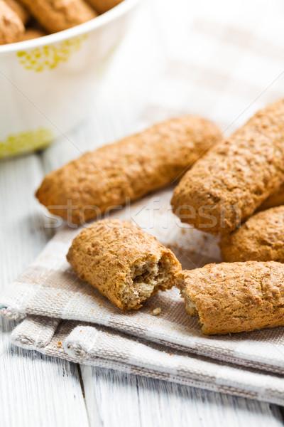 wholemeal cookies Stock photo © jirkaejc