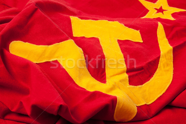 soviet flag Stock photo © jirkaejc