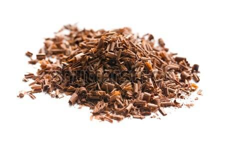 chocolate shavings Stock photo © jirkaejc
