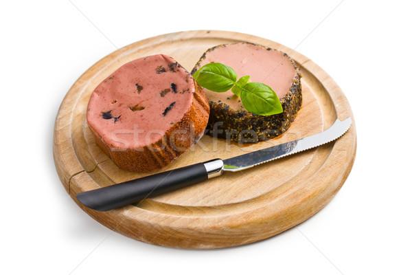 gourmet pate Stock photo © jirkaejc