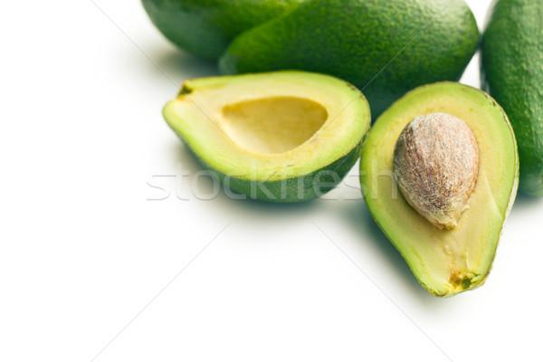 Stok fotoğraf: Gıda · arka · plan · yeşil · yeme · taze · nesne