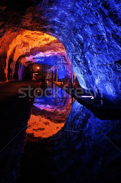 Soli kościoła kolory podziemnych podróży ciemne Zdjęcia stock © jkraft5