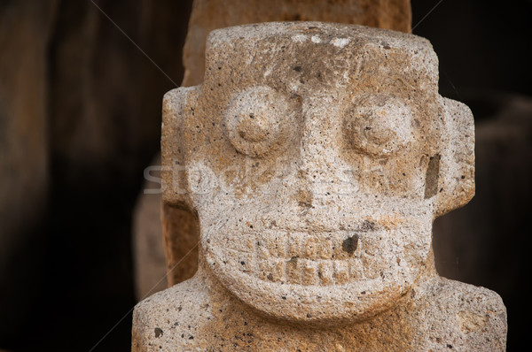 Closeup Ancient Statue Stock photo © jkraft5