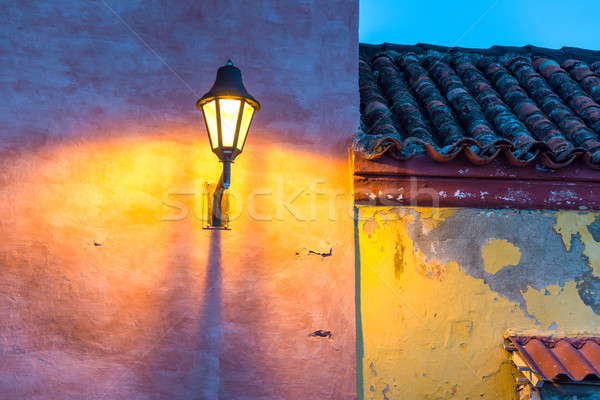 Colonial Street Light Stock photo © jkraft5