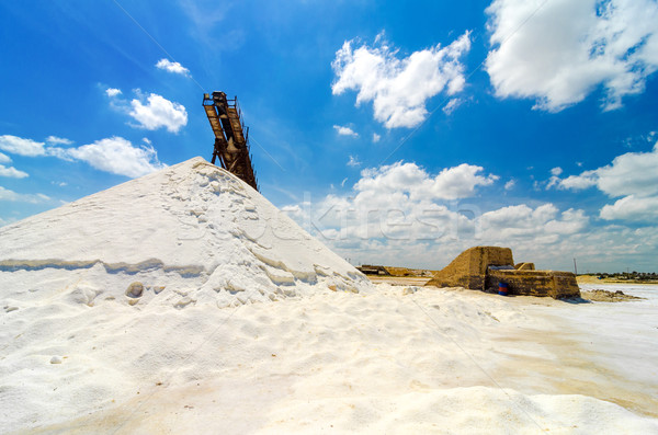 Sal producción cielo industria industrial Foto stock © jkraft5