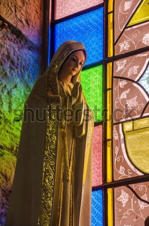 Colorful Religious Statue Stock photo © jkraft5