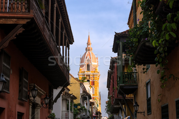 Cartagena City Center Stock photo © jkraft5