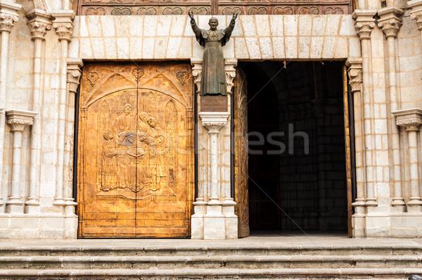 Basilica Entrance Stock photo © jkraft5