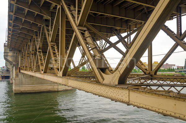 Bridge Underside Stock photo © jkraft5