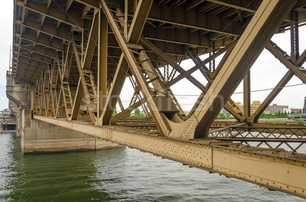 Bridge Underside Stock photo © jkraft5