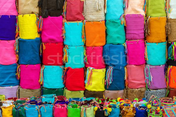 お土産 袋 販売 コロンビア 典型的な 通り ストックフォト © jkraft5