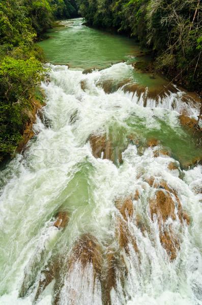 River Rapids in Chiapas, Mexico Stock photo © jkraft5