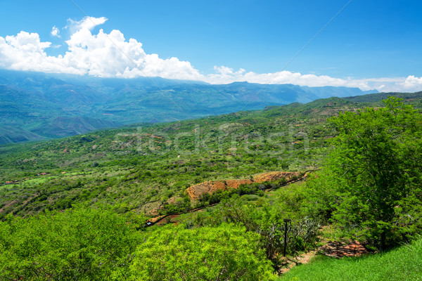 Dramatic Landscape in Santander, Colombia Stock photo © jkraft5