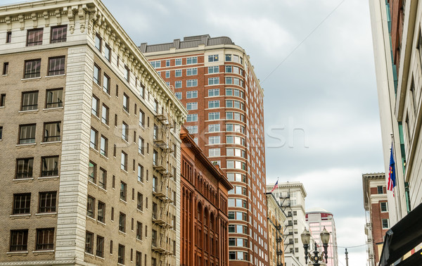 Portland Downtown View Stock photo © jkraft5