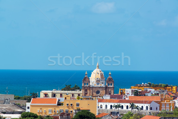 Cartagena, Colombia Old Town Stock photo © jkraft5