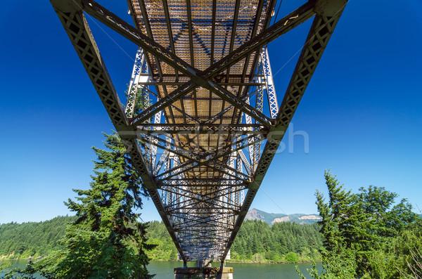 Looking up at Bridge Stock photo © jkraft5