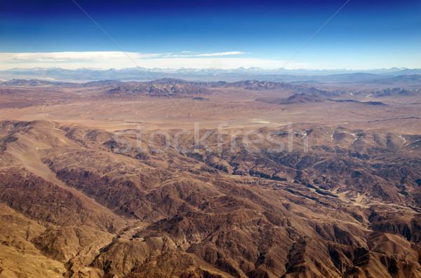 высокий пустыне Южной Америке высушите холмы снега Сток-фото © jkraft5