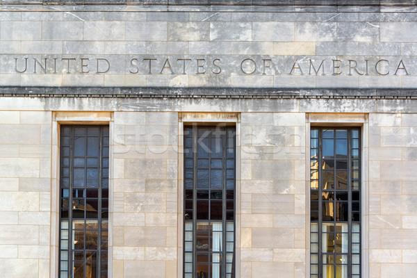 ABD Bina Illinois sözler Amerika Birleşik Devletleri Stok fotoğraf © jkraft5