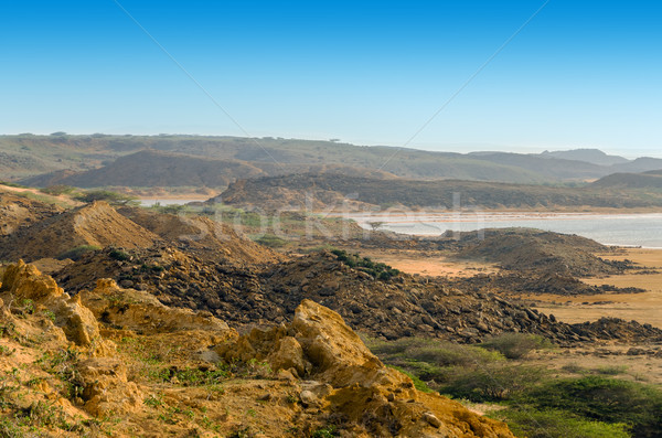 Dry Barren Landscape Stock photo © jkraft5