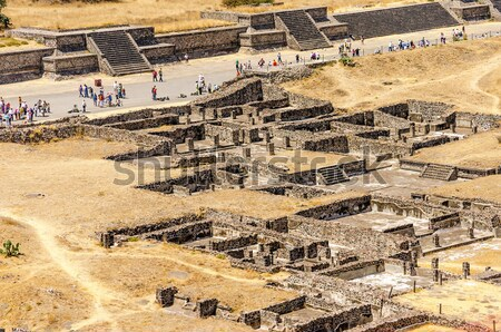 Ancient Teotihuacan Ruins Stock photo © jkraft5