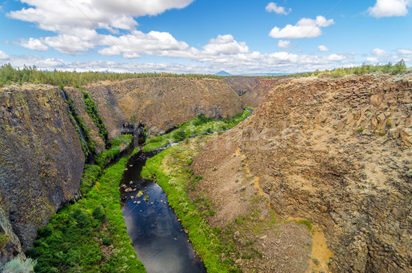 Crooked River Canyon Stock photo © jkraft5
