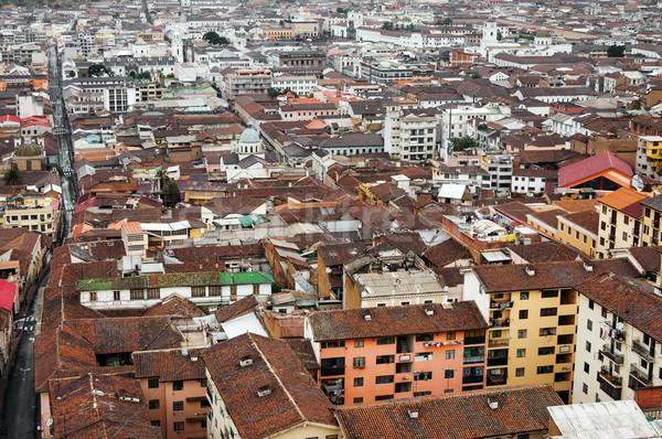 Historic Center of Quito, Ecuador Stock photo © jkraft5