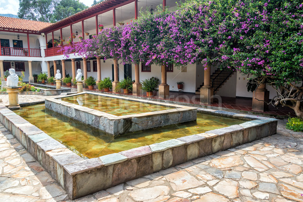 Monastery Courtyard Stock photo © jkraft5
