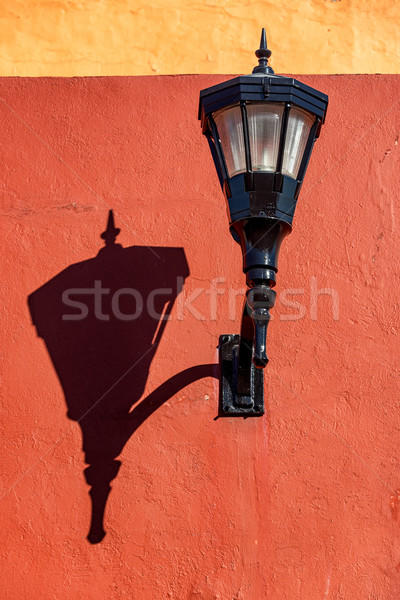 Street Light and Shadow Stock photo © jkraft5