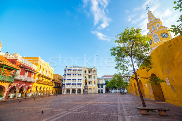 Stock photo: Colonial Plaza