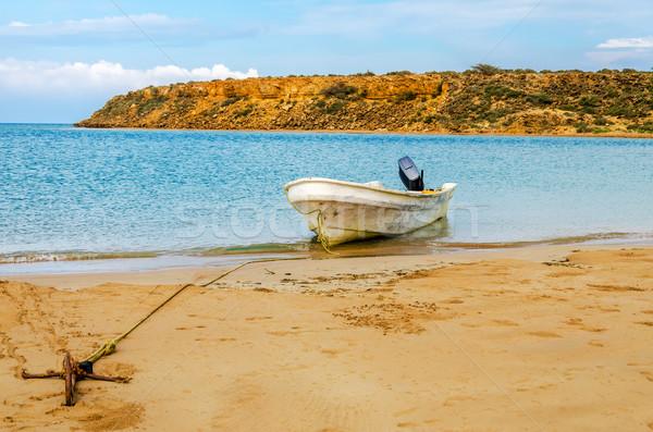 Anchored Boat Stock photo © jkraft5
