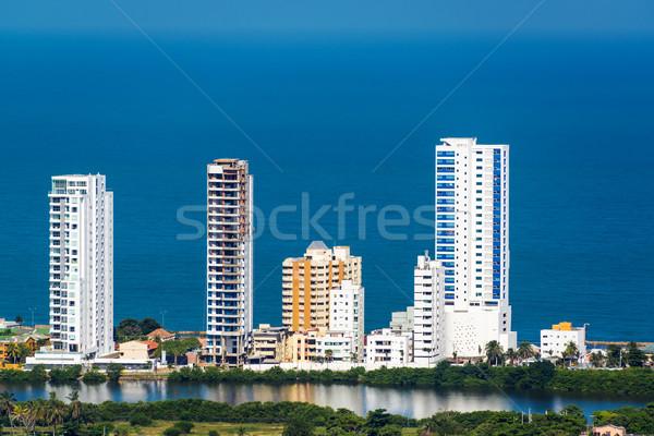 High Rise Apartments Stock photo © jkraft5