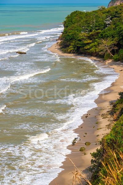 пляж нетронутый пляжей города Сток-фото © jkraft5