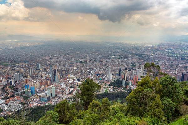 Bogotá Colombia városkép belváros épület város Stock fotó © jkraft5
